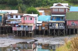 Chiloé, Castro, Palafitos